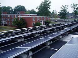 Divinity School's Fisher Hall, this 40kW solar system