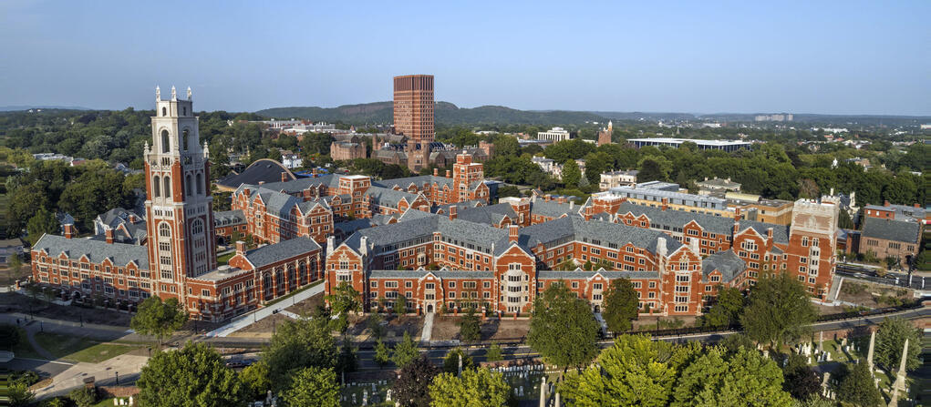 distance shot of franklin and murray colleges