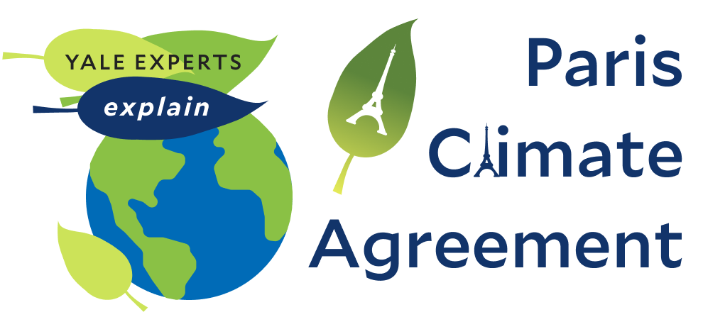 paris climate agreement header with image of eiffel tower