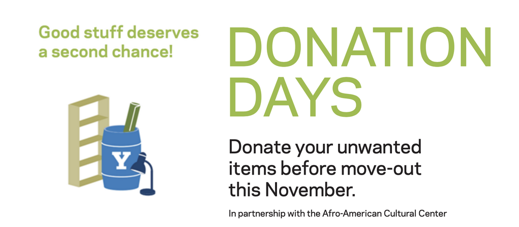 donation days, good stuff deserves a second chance