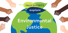 yale experts explain environmental justice infographic