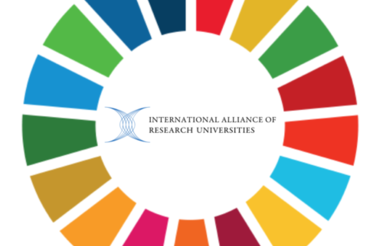 Sustainable Development Goal and International Alliance of Research Universities logos