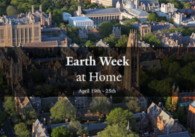 Earth Week at Home logo with dates April 19 - 25