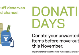 donation days, good stuff deserves a second chance
